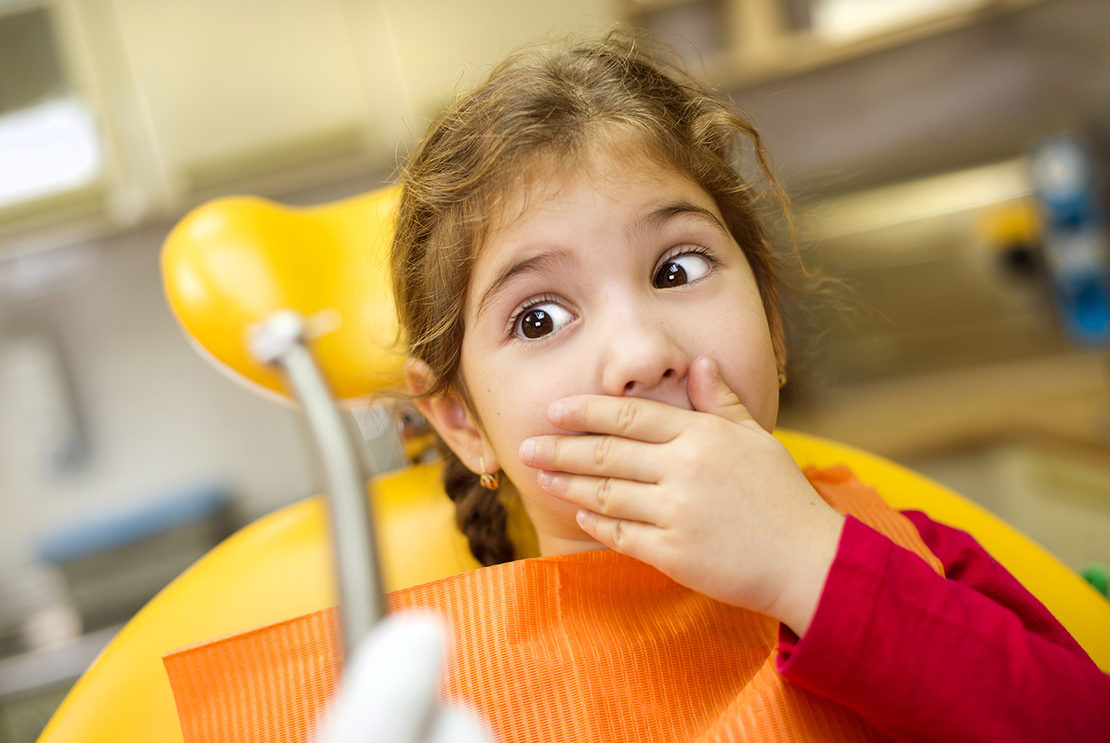 Why children are afraid of dentists